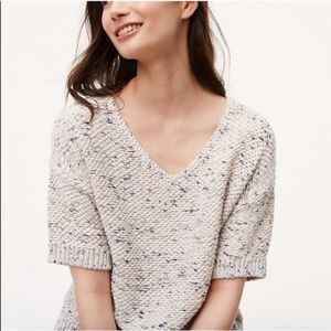 LOFT Anne Taylor chunky knit sweater Medium